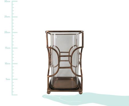 Vaso de Vidro Nataly - Marrom | WestwingNow