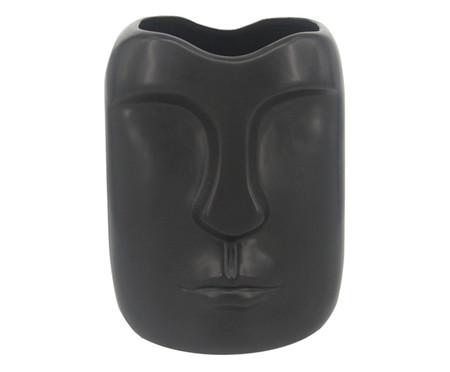 Vaso em Cerâmica Moara - Preto | WestwingNow