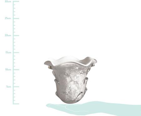 Vaso de Vidro Trouxinha Hattie - Branco | WestwingNow