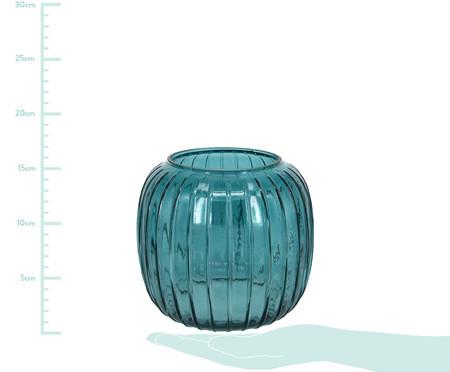 Vaso de Vidro Rickie - Azul   WestwingNow