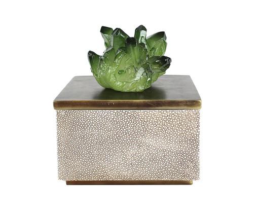 Caixa Decorativa Zombi - Marrom, Marrom | WestwingNow