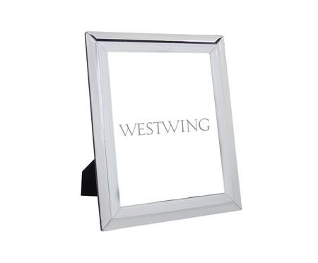Porta-Retrato Espelhado Darcy - Prateado | WestwingNow