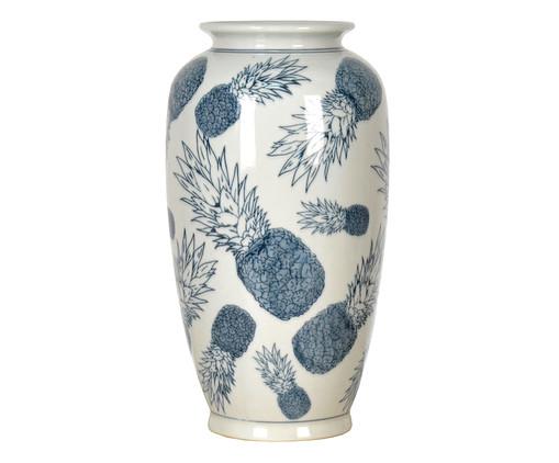 Vaso em Porcelana Abacaxi - Branco, Branco | WestwingNow