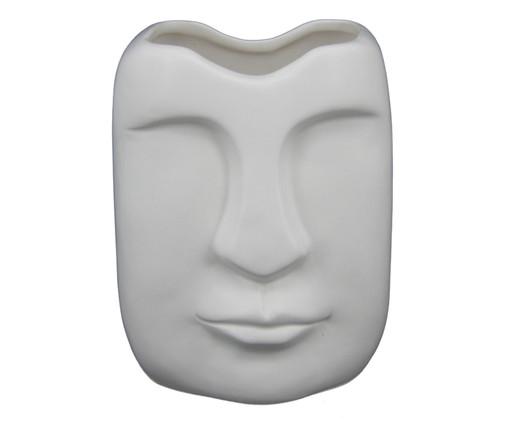 Vaso em Cerâmica Moara - Branco, Branco | WestwingNow