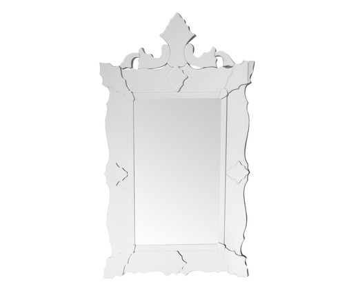 Espelho de Parede Veneziano Ian - Prateado, Espelhado | WestwingNow