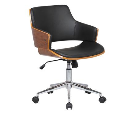 Cadeira de Escritório com Rodízios Gretel - Preta | WestwingNow