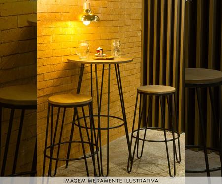 Banqueta Atala - Preto | WestwingNow