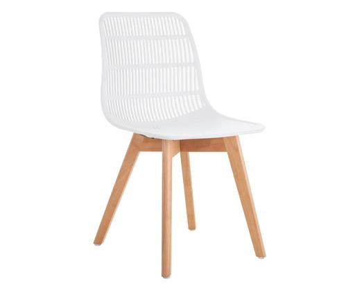 Cadeira Agnes - Branco, Branco | WestwingNow