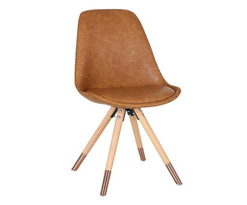 Cadeira Luana - Marrom, Marrom | WestwingNow