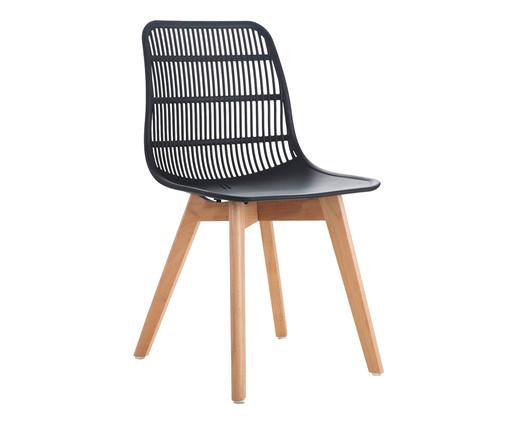 Cadeira Agnes - Preto, Preto | WestwingNow