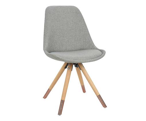 Cadeira Luana - Cinza, Cinza | WestwingNow