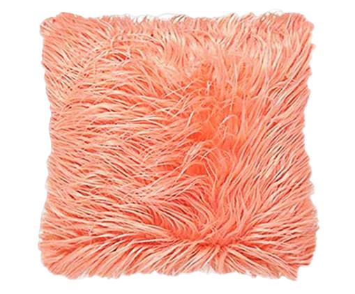 Almofada em Veludo Flufe - Rosa, Rosa | WestwingNow
