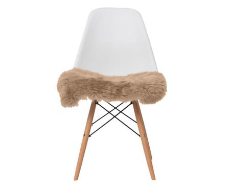 Pelego Natural para Cadeira Eames - Marrom | WestwingNow