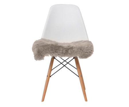 Pelego Natural para Cadeira Eames - Bege | WestwingNow