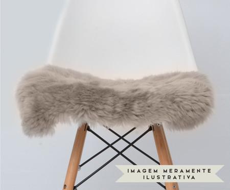 Assento em Pele Pad'S para Cadeira Eames - Linen   WestwingNow