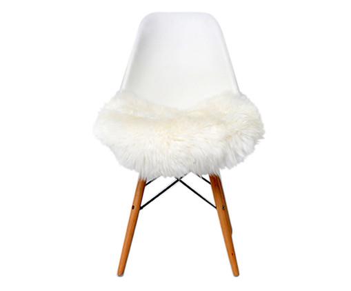 Pelego Natural para Cadeira Eames - Branca, Branco | WestwingNow