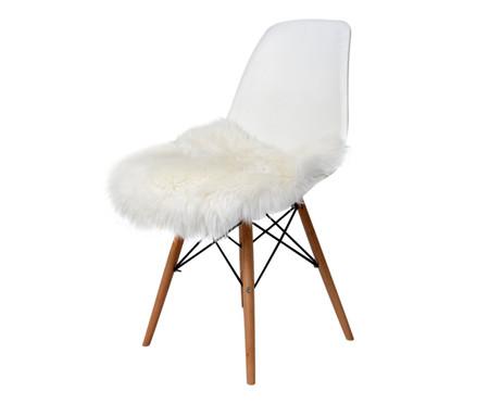 Pelego Natural para Cadeira Eames - Branca | WestwingNow