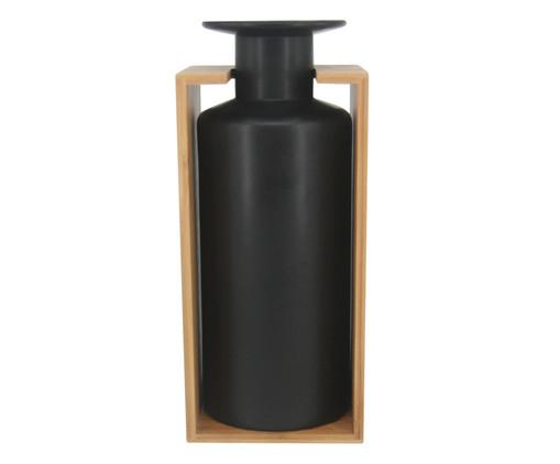 Vaso de Cerâmica Harry - Preto, Preto | WestwingNow