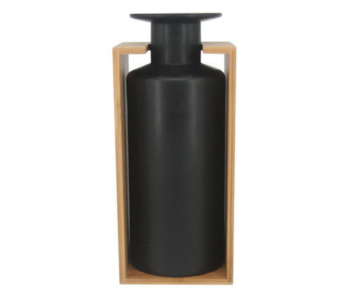 Vaso em Cerâmica Harry - Preto, Preto | WestwingNow