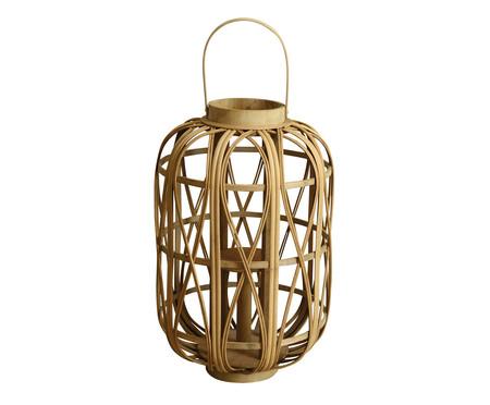Lanterna de Bambu Globbe - Bege | WestwingNow