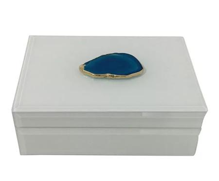 Caixa Up Ágata Azul - Branca | WestwingNow