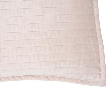 Porta Travesseiro em Veludo Ripado Bege | WestwingNow