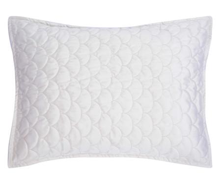 Porta Travesseiro em Veludo Escamas Gelo | WestwingNow