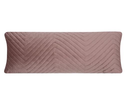 Almofada em Veludo Zig Zag - Rosê, pink | WestwingNow