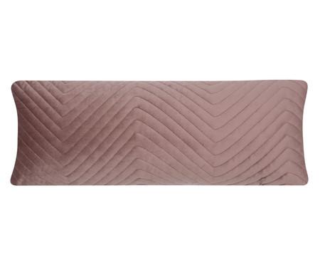 Almofada em Veludo Zig Zag - Rosê | WestwingNow
