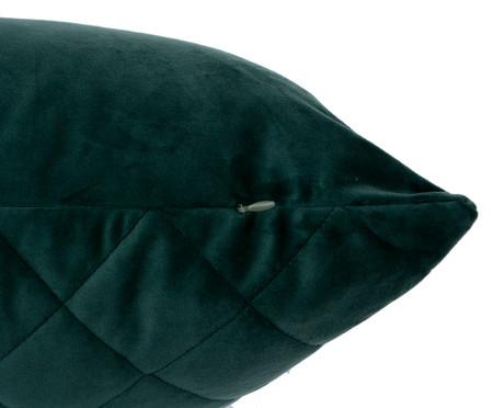 Almofada em Veludo Loss - Verde Escuro | WestwingNow
