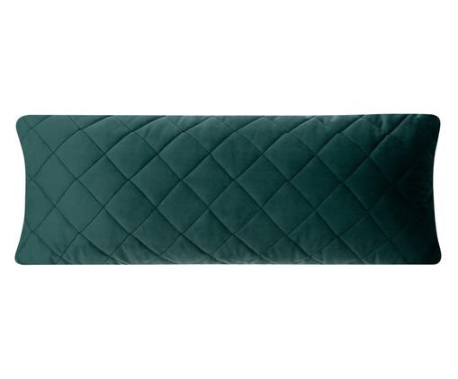 Almofada em Veludo Loss - Verde Escuro, green | WestwingNow