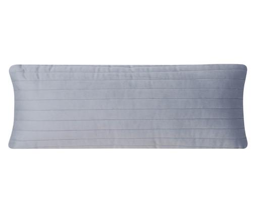 Almofada em Veludo Ripado - Cinza, grey | WestwingNow