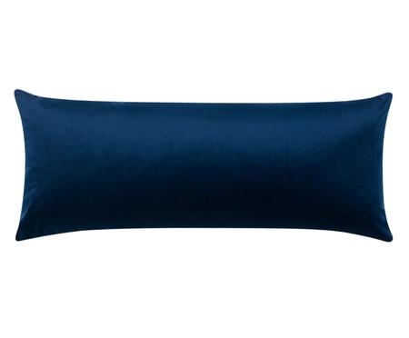 Almofada em Veludo Escamas - Marinho | WestwingNow