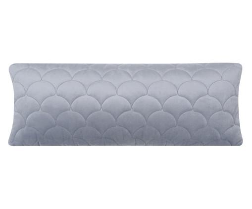 Almofada em Veludo Escamas - Cinza, grey | WestwingNow