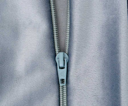 Duvet em Veludo Solid - Cinza | WestwingNow