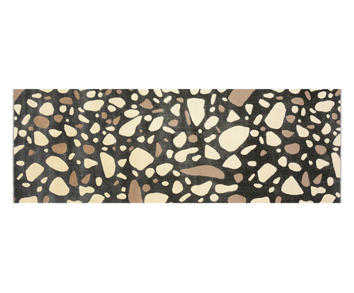 Passadeira Trendy Granilite Carbon, Marrom e Creme | WestwingNow