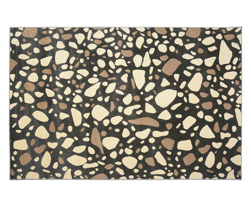 Tapete Trendy Granilite Carbon, Marrom e Creme | WestwingNow