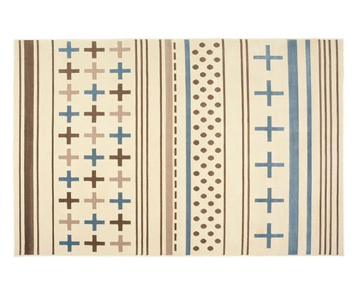 Tapete Trendy Plus, Azul e Creme | WestwingNow