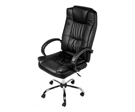 Cadeira de Escritório com Rodízios Monaco - Preta | WestwingNow