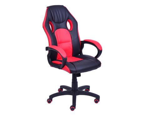 Cadeira Raptor - Preta e Vermelha | WestwingNow