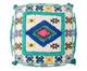 Pufe Dharohar - Multicolorido, Colorido | WestwingNow