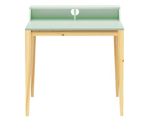 Escrivaninha de Madeira Pine - Verde Claro, Verde | WestwingNow
