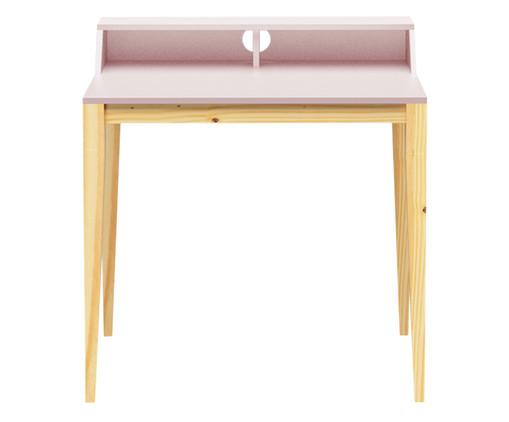 Escrivaninha de Madeira Pine - Rosa Claro, Rosa | WestwingNow