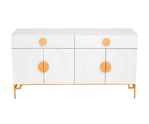 Buffet Duo Cerchio D'Oro - Branco, Branco | WestwingNow