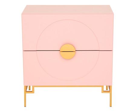 Cômoda Cerchio D'Oro Rosé - 02 gavetas | WestwingNow