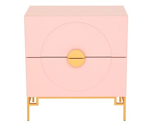Cômoda Cerchio D'Oro Rosé - 02 gavetas, Rosa | WestwingNow