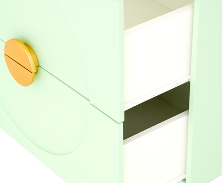 Cômoda Cerchio D'Oro Mint - 02 gavetas | WestwingNow