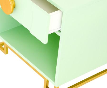 Mesa de Cabeceira Cerchio D'Oro com Nicho - Mint | WestwingNow