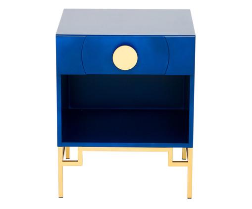 Mesa de Cabeceira Cerchio D'Oro com Nicho - Royal, Azul | WestwingNow