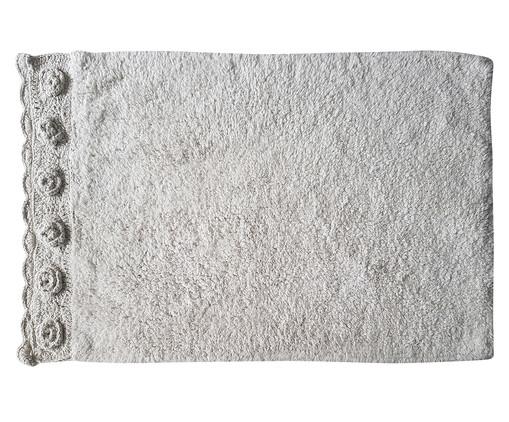 Tapetinho de Banheiro Clare - Branco, Branco   WestwingNow